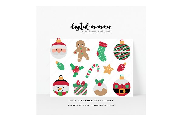 13++ Christmas Clip Art Cute