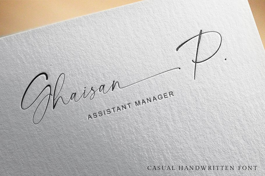 Segatha | Casual Handwritten Font in Script Fonts - product preview 6