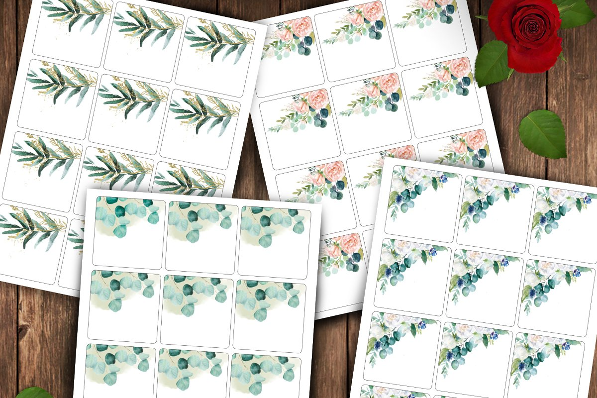 Rectangle Gift Tag ID13