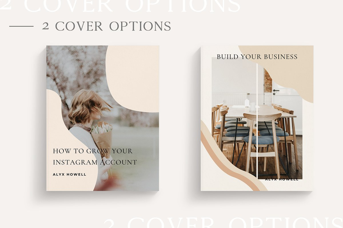 Mulberry Workbook | CANVA in Magazine Templates - product preview 8