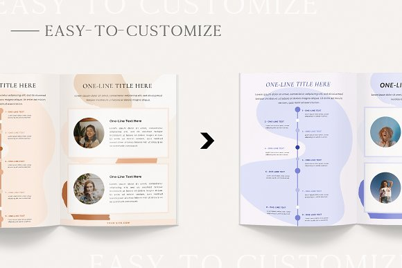 Mulberry Workbook | CANVA in Magazine Templates - product preview 2