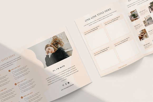 Mulberry Workbook | CANVA in Magazine Templates - product preview 4