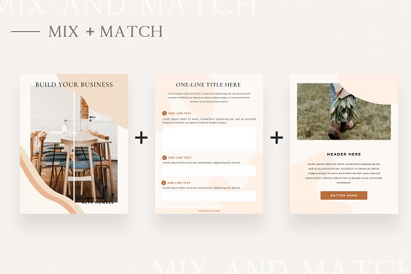 Mulberry Workbook | CANVA in Magazine Templates - product preview 5