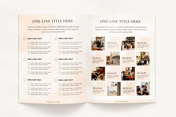 Mulberry Workbook | CANVA in Magazine Templates - product preview 7