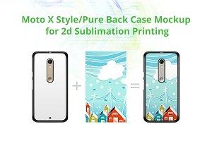 Moto X Style/Pure 2dCase Mock-up