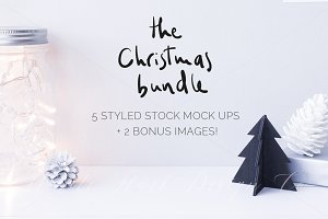 The Christmas Mock up BUNDLE