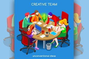 Business Creative Teamwork