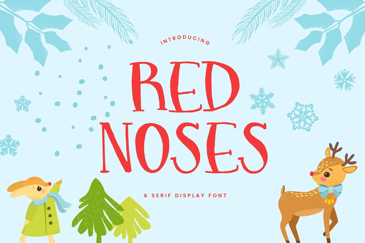Red Noses | A Serif Display in Serif Fonts - product preview 8