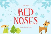 Red Noses | A Serif Display