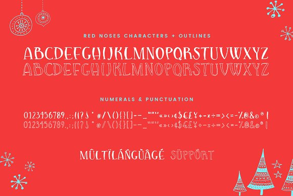 Red Noses | A Serif Display in Serif Fonts - product preview 1
