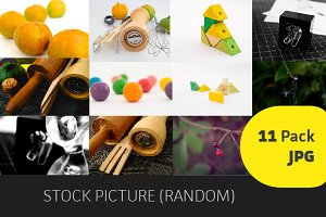 Stock Pictures (Random) 11 Pack JPG