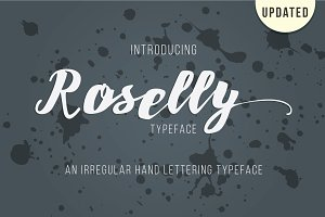 Roselly Typeface