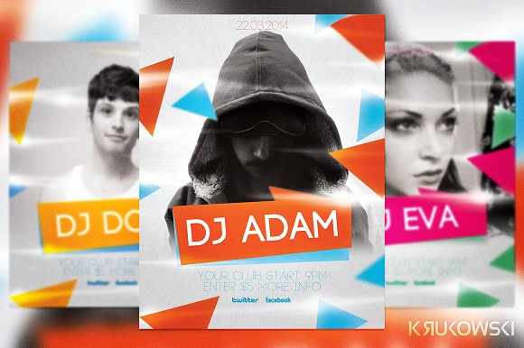 Deejay Party Flyer