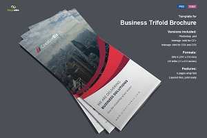 Trifold Brochure Wave Vol. 3
