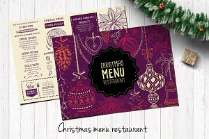 Food menu, restaurant flyer #23