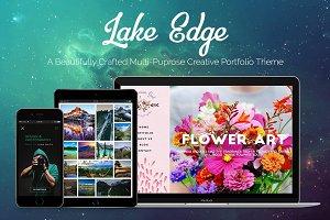 LAKE EDGE | Creative Portfolio Theme
