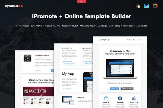Yoga Online Template Builder Email Templates Creative Market Pro - Mailchimp template builder