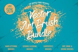Vector Art Brush Bundle 5