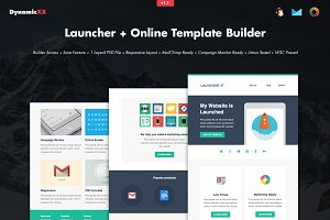 Launcher + Online Template Builder