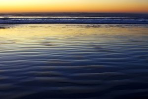 ocean sunset - verticle background