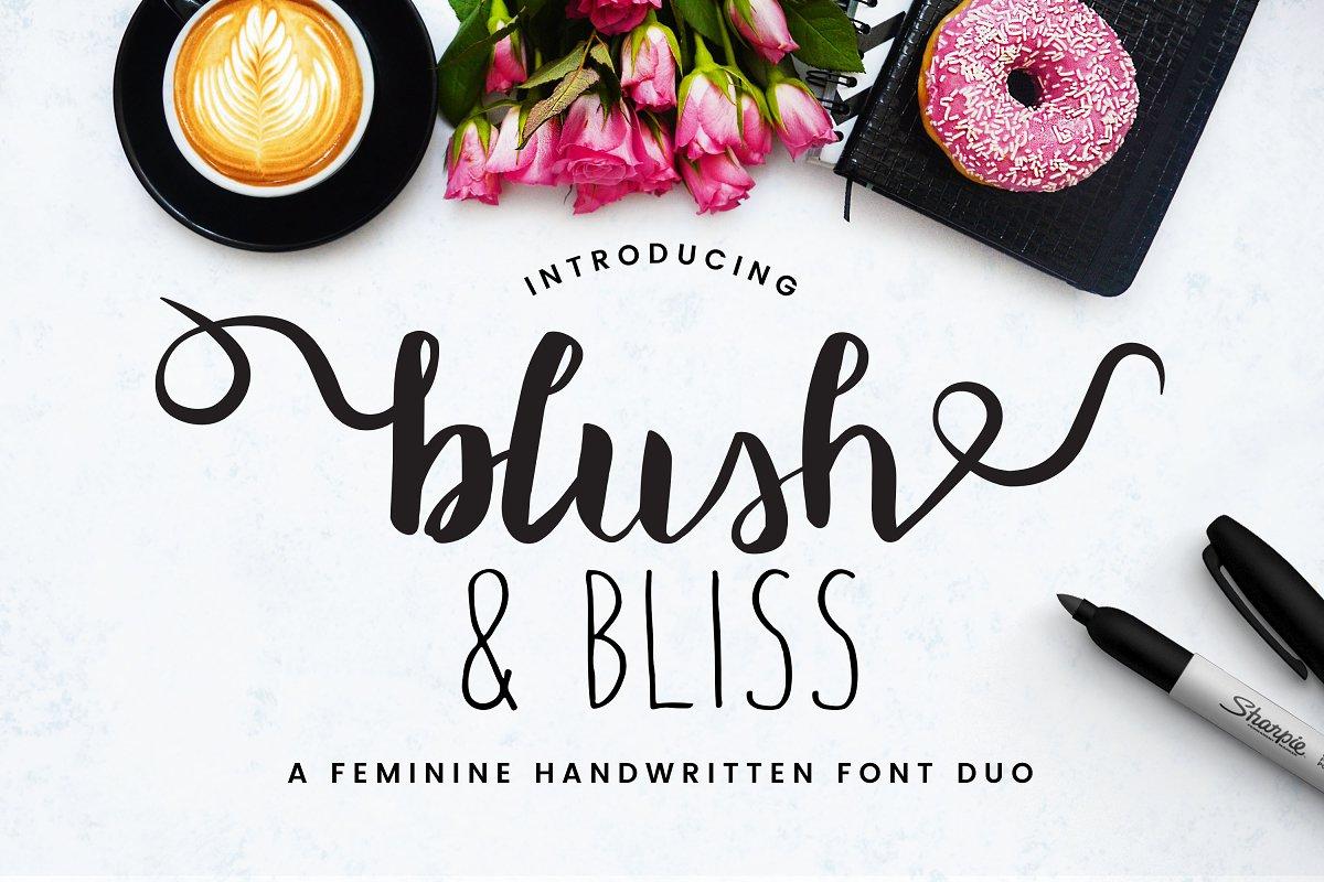 Blush & Bliss | A Font Duo