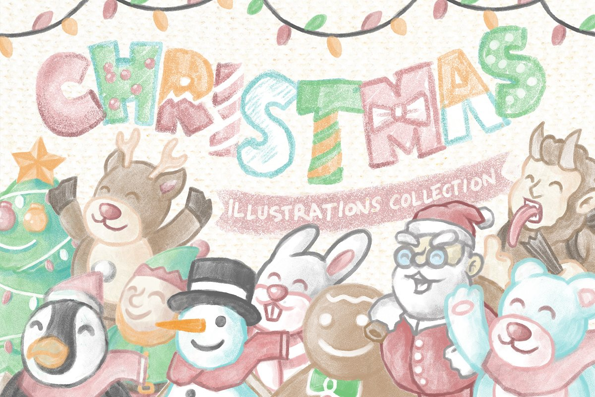 Christmas Illustrations Collection