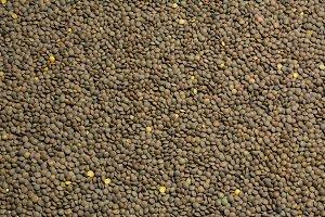 Lentils food background