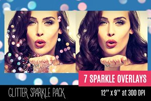 Sparkles Photoshop Overlay Bokeh