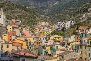 Riomaggiore in Cinqueterre