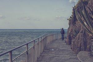 Walking in Cinque Terre