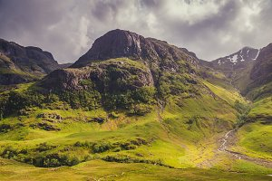 Glencoe valey view, Scotland