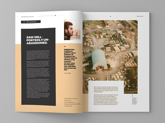 Timber - Magazine Template in Magazine Templates - product preview 6