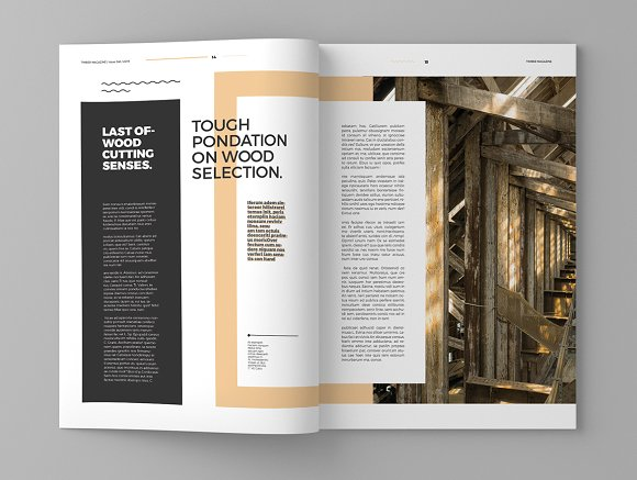 Timber - Magazine Template in Magazine Templates - product preview 8