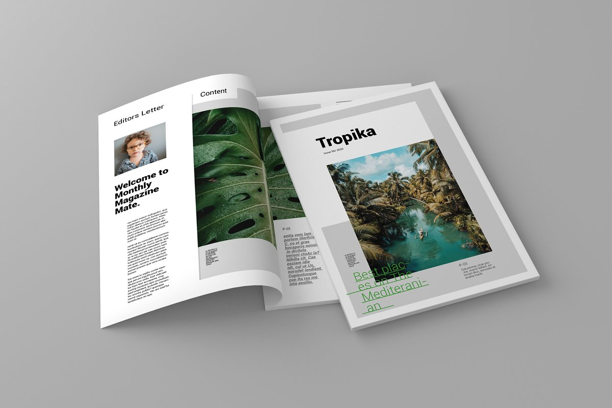 Tropika - Magazine Template in Magazine Templates - product preview 8