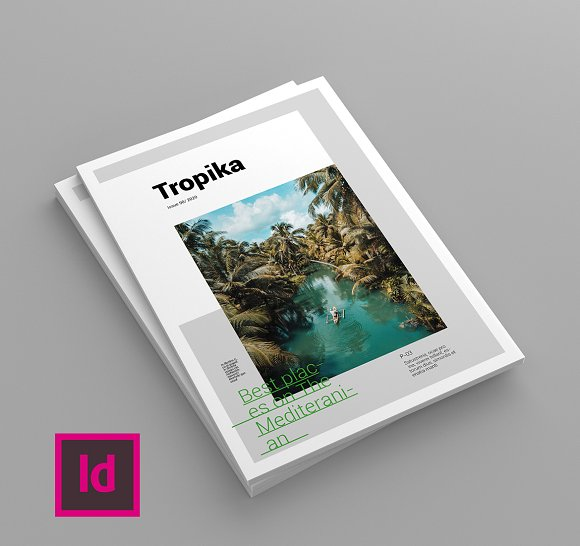 Tropika - Magazine Template in Magazine Templates - product preview 1