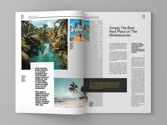 Tropika - Magazine Template in Magazine Templates - product preview 4