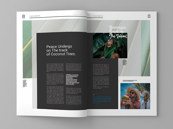 Tropika - Magazine Template in Magazine Templates - product preview 6