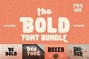 The Bold Font Bundle