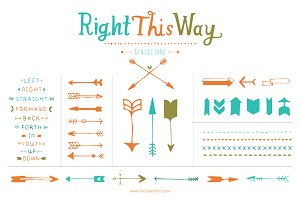 Right This Way (Clipart)