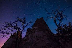 Martian nightscape