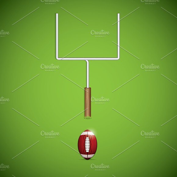 American football goalpost