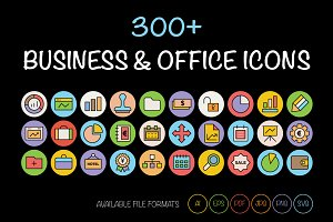300+ Business and Office Icons