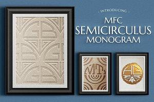 MFC Semicirculus Monogram