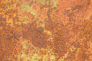 Rust metal surface