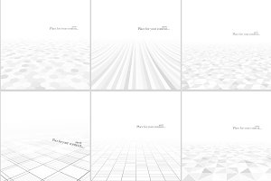 Abstract white backgrounds.