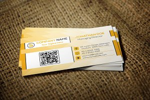 Business Card ad004
