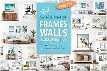 Frames&Walls Coastal Mockups Bundle
