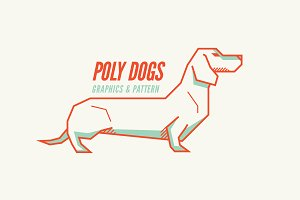 Poly Dargs, Dog Pattern & Graphics