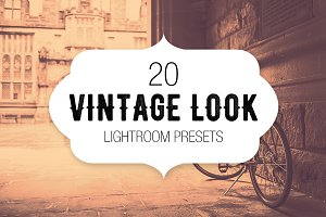 20 Vintage Look Lightroom Presets