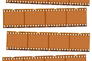Camera Film Strips